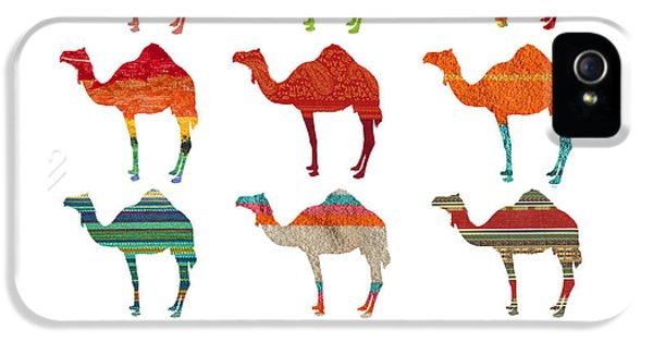Camels IPhone 5 Case by Art Spectrum