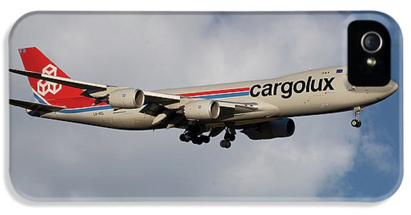 Jet iPhone 5 Case - Cargolux Boeing 747-8r7 5 by Smart Aviation