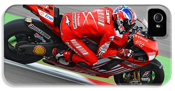 Casey Stoner IPhone 5 Case by Henk Meijer Photography