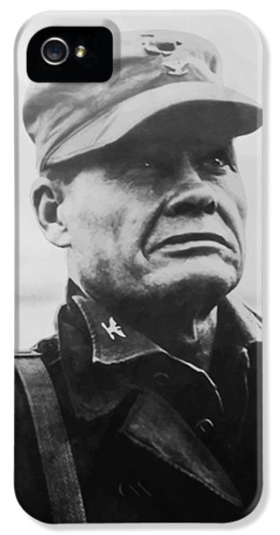Cross iPhone 5 Case - Chesty Puller by War Is Hell Store