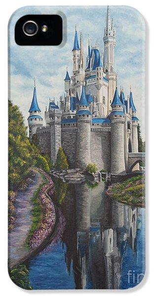 Cinderella Castle  IPhone 5 Case