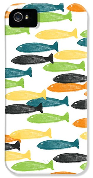 Colorful Fish  IPhone 5 Case by Linda Woods