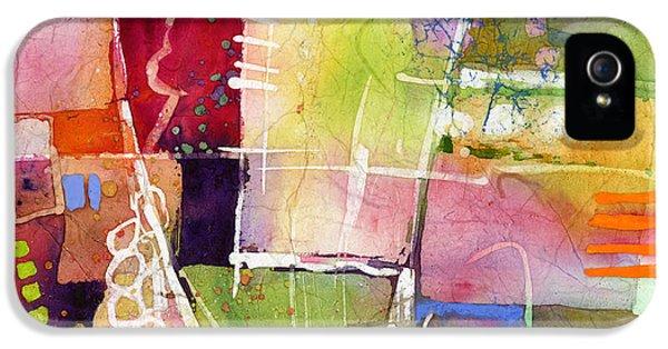 Cross iPhone 5 Case - Crossroads by Hailey E Herrera