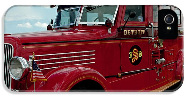 Detroit Fire Truck IPhone 5 Case