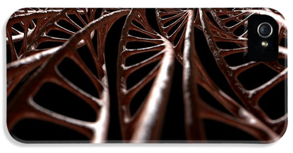 Dna Strand Micro IPhone 5 Case by Allan Swart