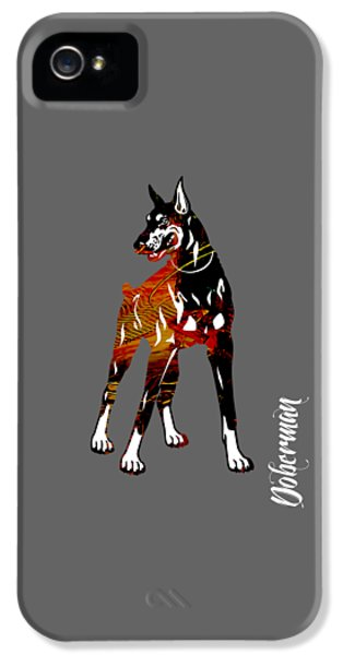Doberman Pinscher Collection IPhone 5 / 5s Case by Marvin Blaine