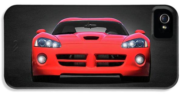 Viper iPhone 5 Case - Dodge Viper by Mark Rogan