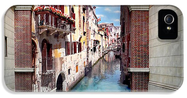 Featured Images iPhone 5 Case - Dreaming Of Venice Panorama by Az Jackson