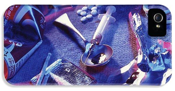 Drug Abuse IPhone 5 Case by Tek Image