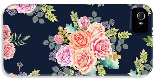 Floral Pattern 1 IPhone 5 Case