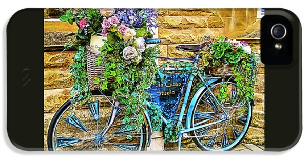 Flower Bike Collection IPhone 5 / 5s Case by Marvin Blaine
