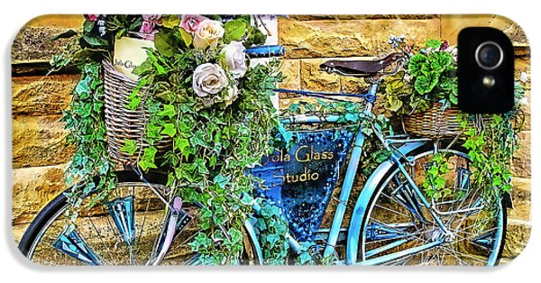 Flower Bike Collection IPhone 5 Case by Marvin Blaine