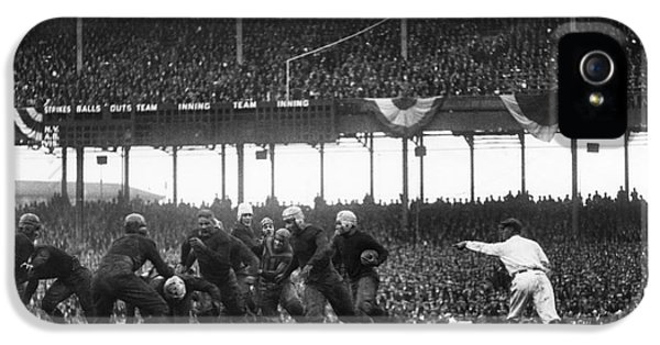 Football Game, 1925 IPhone 5 Case by Granger