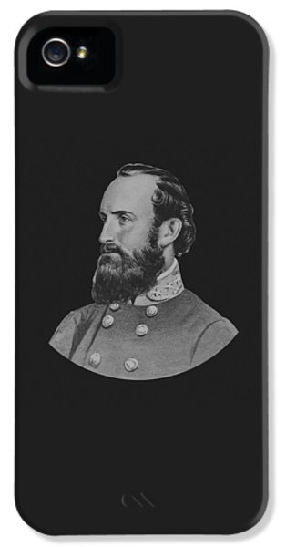 General Stonewall Jackson IPhone 5 Case by War Is Hell Store