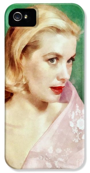 Grace Kelly By John Springfield IPhone 5 Case