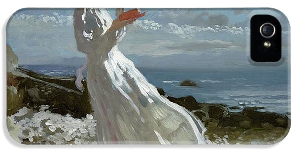 Grace Reading At Howth Bay IPhone 5 / 5s Case by Sir William Orpen