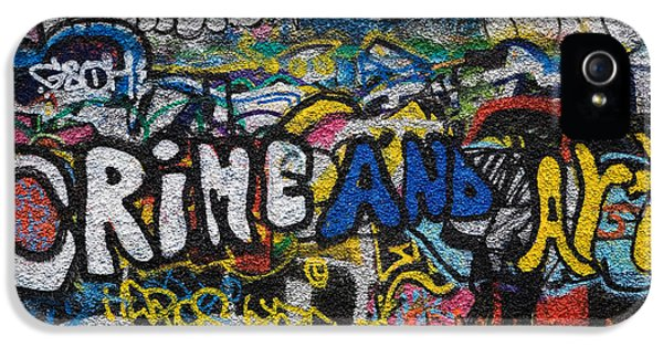 Grafitti On The U2 Wall, Windmill Lane IPhone 5 / 5s Case by Panoramic Images