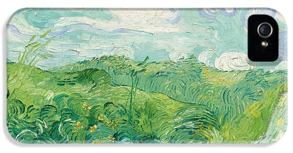 Green Wheat Fields   Auvers IPhone 5 Case