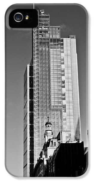 Heron Tower London Black And White IPhone 5 Case