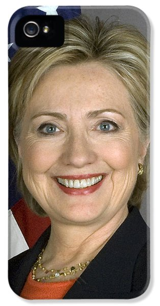 Hillary Clinton IPhone 5 Case by War Is Hell Store
