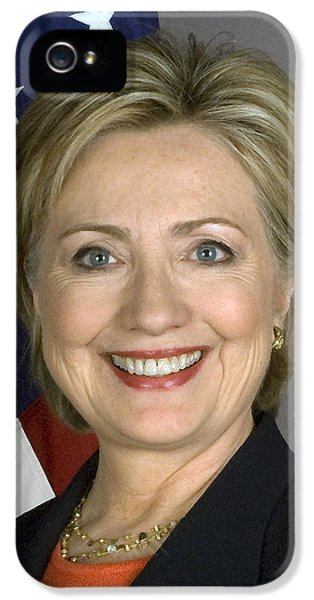 Hillary Clinton IPhone 5 / 5s Case by War Is Hell Store
