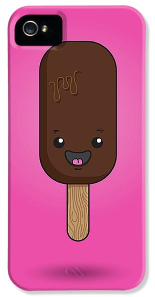 Ice Cream Time IPhone 5 Case by Samuel Whitton