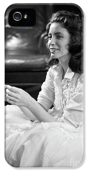 June Carter, 1956 IPhone 5 Case by The Harrington Collection