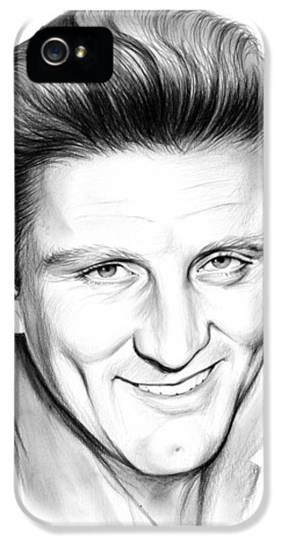 Kirk Douglas IPhone 5 Case by Greg Joens
