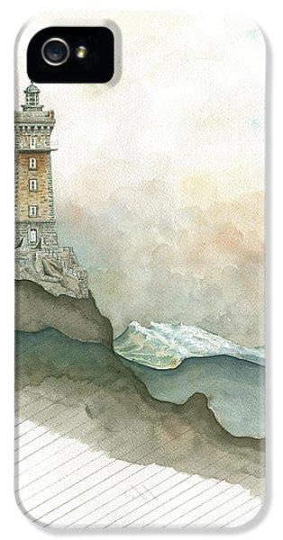 La Vieille Lighthouse IPhone 5 Case by Juan Bosco