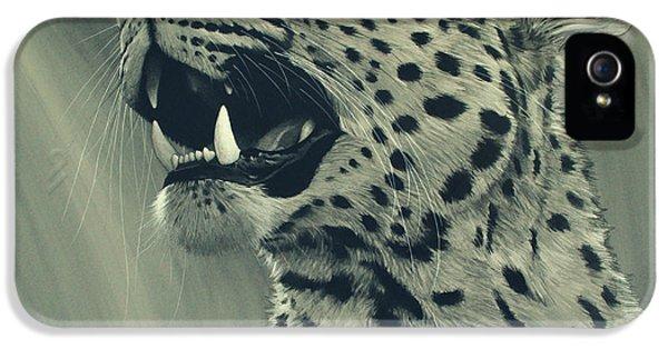 Leopard Portrait IPhone 5 Case