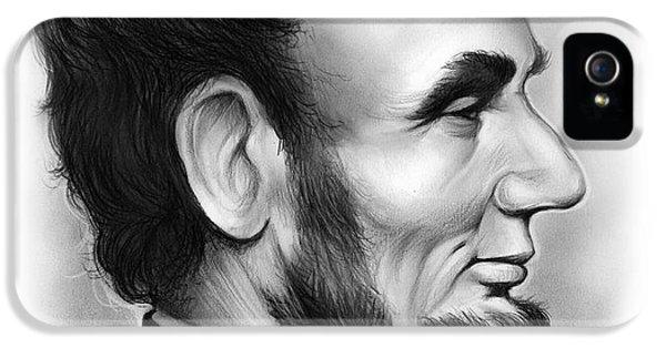 Gettysburg iPhone 5 Case - Lincoln by Greg Joens