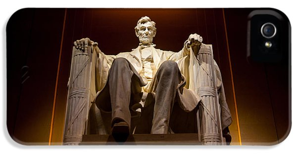 Lincoln Memorial At Night - Washington D.c. IPhone 5 Case