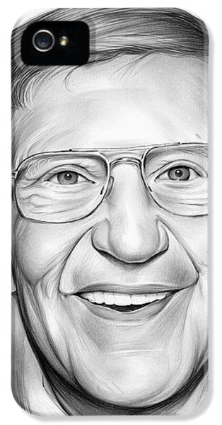 Lou Holtz IPhone 5 / 5s Case by Greg Joens
