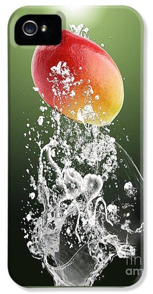 Mango Splash IPhone 5 Case by Marvin Blaine