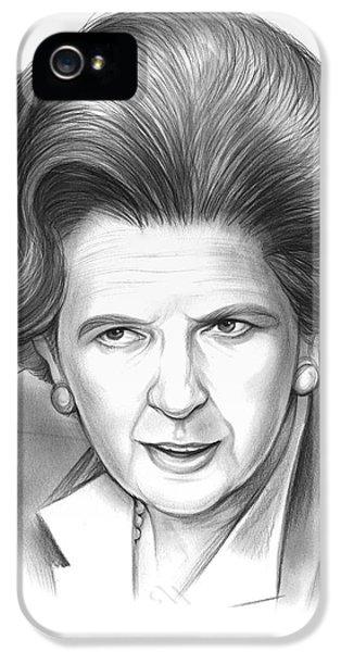 Margaret Thatcher IPhone 5 Case