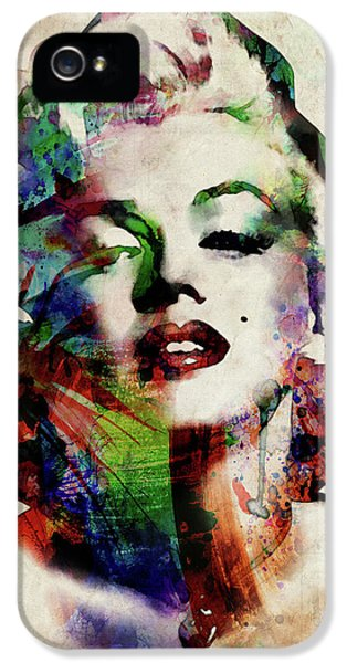Marilyn IPhone 5 Case by Michael Tompsett