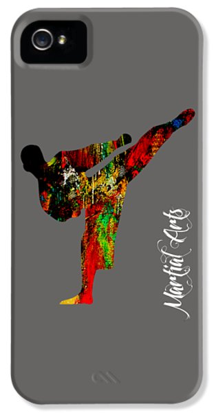 Martial Arts Collection IPhone 5 Case by Marvin Blaine