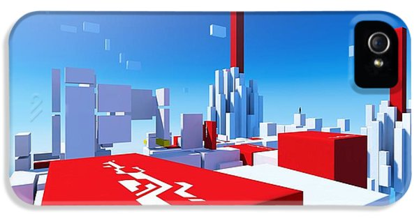 Design iPhone 5 Case - Mirror's Edge by Maye Loeser