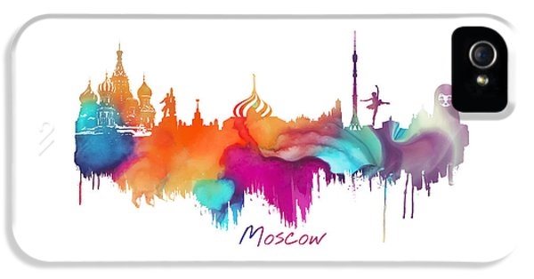 Moscow  IPhone 5 / 5s Case by Justyna JBJart
