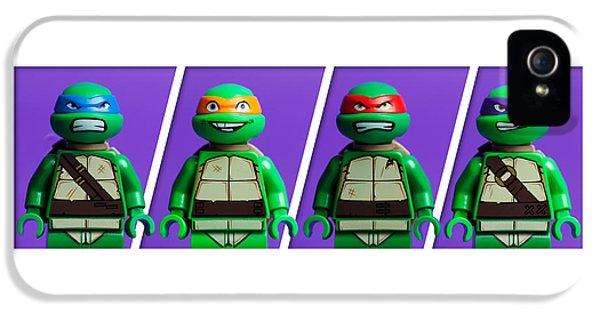 Illustrative iPhone 5 Case - Ninja Turtles by Samuel Whitton