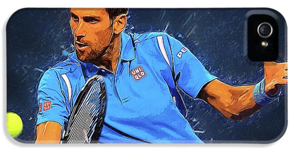 Novak Djokovic IPhone 5 Case