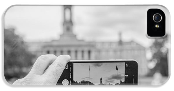 Old Main Penn State  IPhone 5 Case by John McGraw