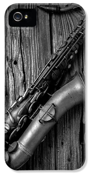 Old Sax IPhone 5 Case by Garry Gay