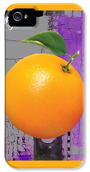 Orange Collection IPhone 5 Case by Marvin Blaine
