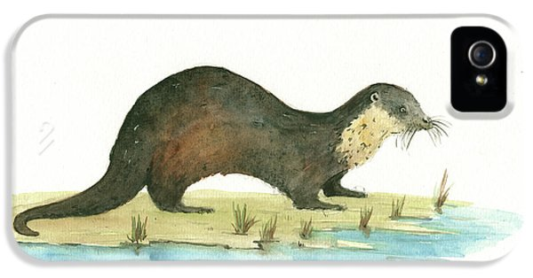Otter IPhone 5 Case by Juan Bosco