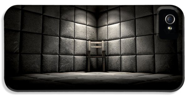 Padded Cell And Empty Chair IPhone 5 Case