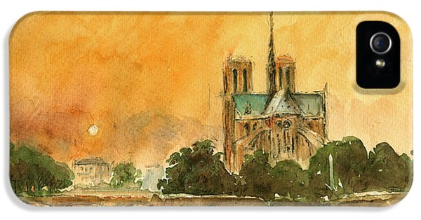 Paris Notre Dame IPhone 5 Case