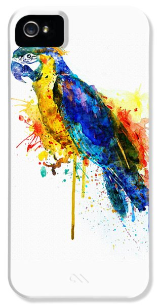 Parrot Watercolor  IPhone 5 Case by Marian Voicu