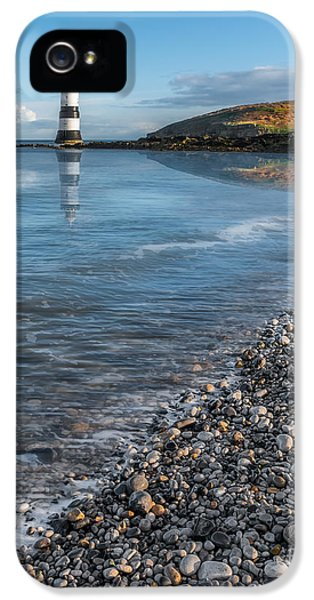 Puffin iPhone 5 Case - Penmon Point Lighthouse by Adrian Evans