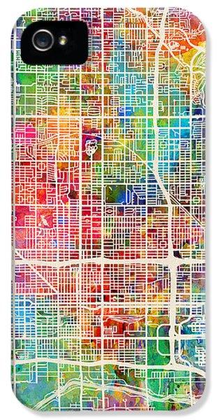 Phoenix Arizona City Map IPhone 5 Case